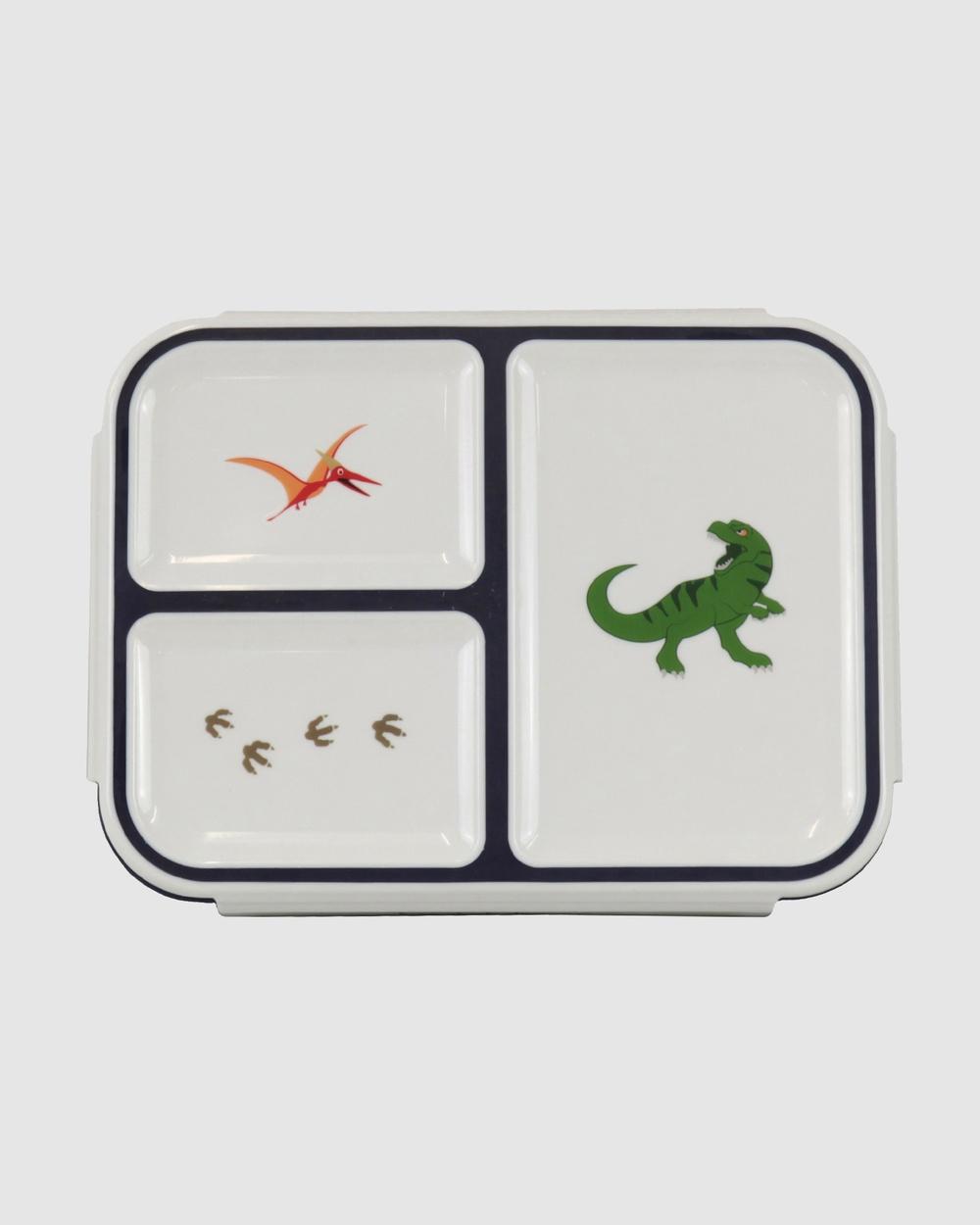 Bobbleart Bento Box Dinosaur Novelty Gifts Navy