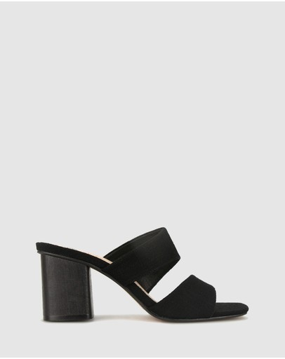Betts - Kiera Block Heel Mules