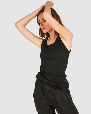 Primness Coasty Tank - T-Shirts & Singlets (Black)