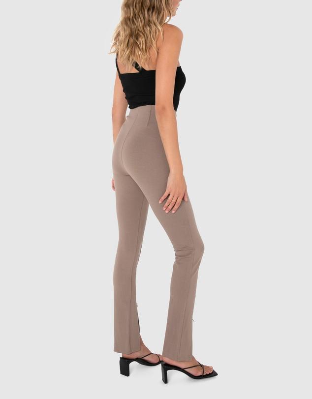 Women Henley Zip Pants
