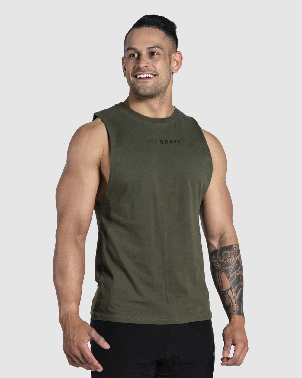 The Brave - Align Tank - Muscle Tops (Green) Align Tank
