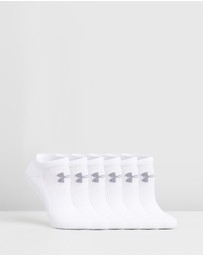 Under Armour - UA Charged Cotton 2.0 No-Show Socks