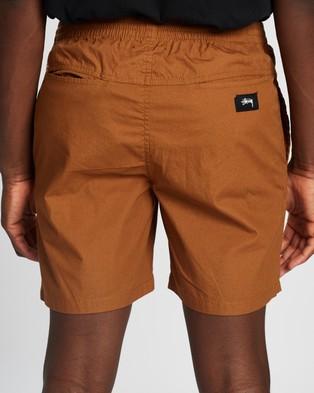 Stussy Basic Stock Beachshorts - Shorts (Tan)