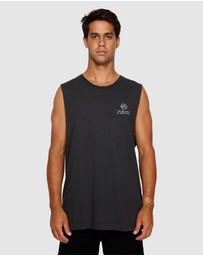 RVCA - Split Decision Muscle Tee