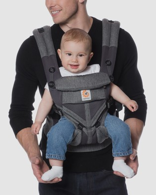 Ergobaby Ergobaby Omni 360 Cool Air Mesh Carrier - All Baby Carriers (Classic Weave)