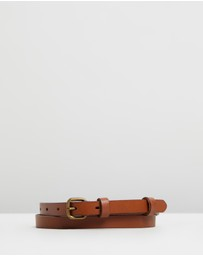Status Anxiety - Only Lovers Left Leather Belt