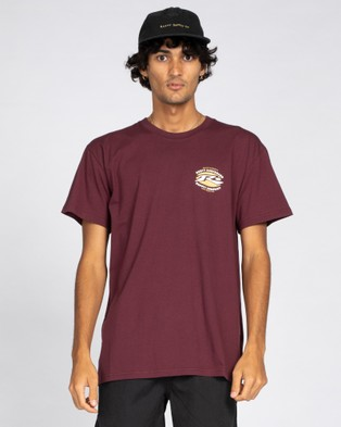 Rusty Graffito Short Sleeve Tee - T-Shirts & Singlets (GPW)