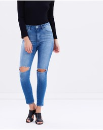 A Brand  - A High Skinny Ankle Basher Jeans