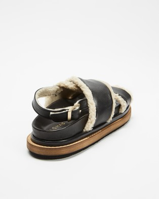 Alohas Sandals Marshmallow - Sandals (Black)