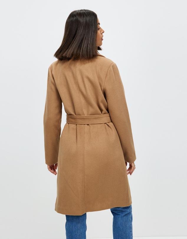 Women Isla Wool Blend Coat