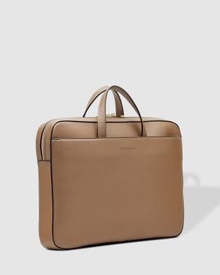 Louenhide - Orleans Laptop Bag - Bags (Coffee) Orleans Laptop Bag
