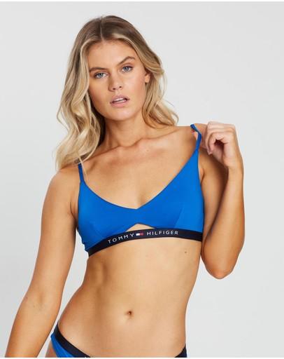 Tommy Hilfiger Bralette Bikini Top Sky Diver