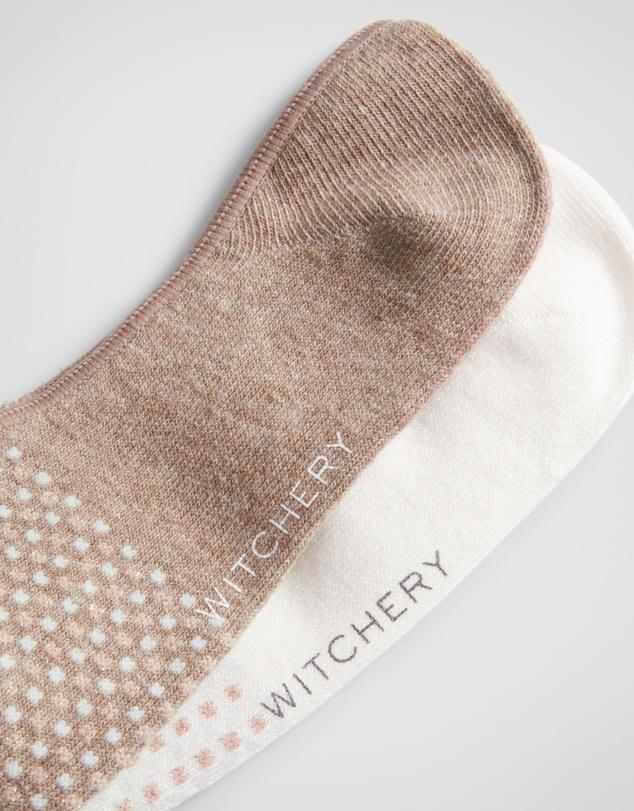 Women Mini Dot Loafer Sock