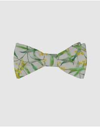 Peggy and Finn - Wattle Bow Tie