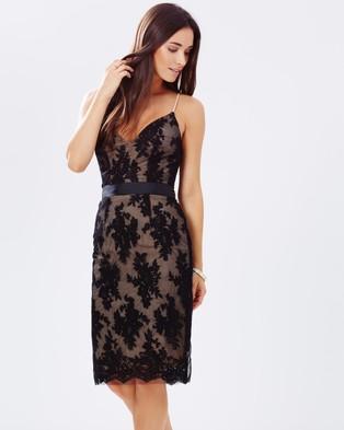 HBSHE – Giselle Lace Dress – Dresses (Black)