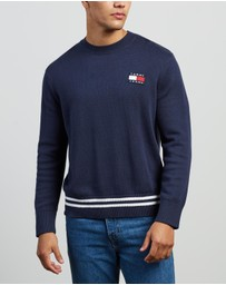 Tommy Jeans - Badge Textured Sweater