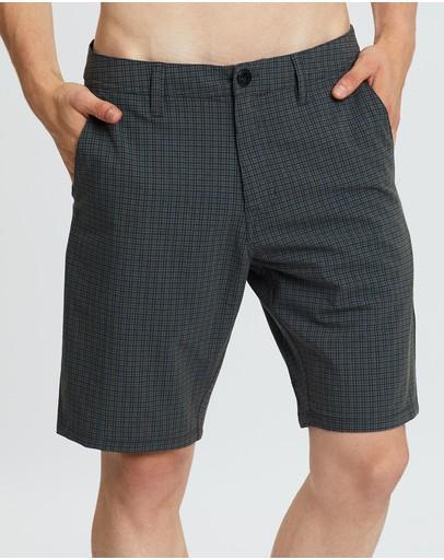 Volcom Frickin Surf N' Turf Mix 20 Hybrid Shorts Dark Charcoal