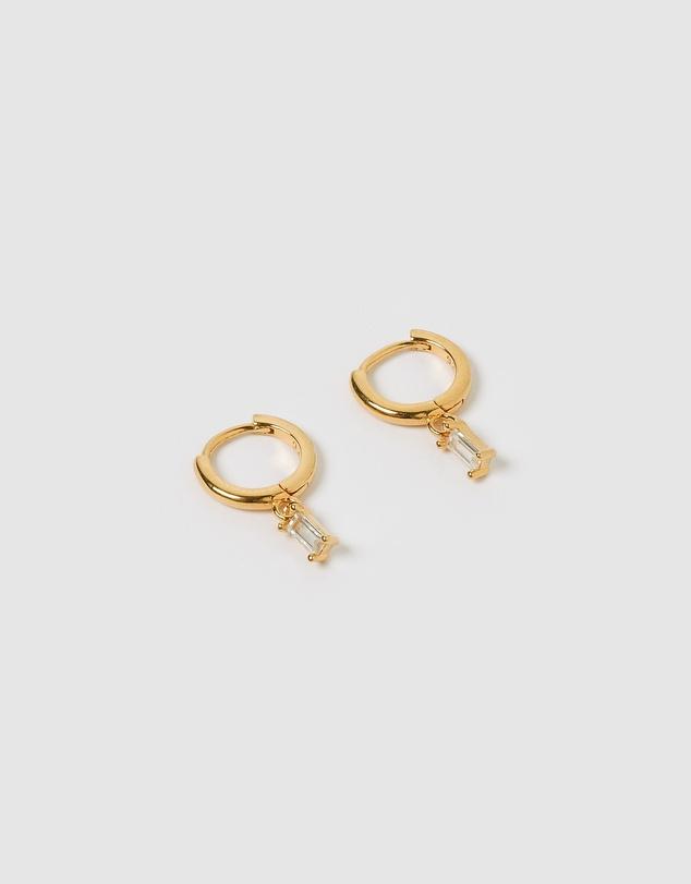 Women Pip Gold Charm Earrings