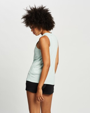 adidas Performance Prime Tank Top - Muscle Tops (Green Tint)