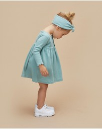 Huxbaby - Aqua Rib Dress - Kids