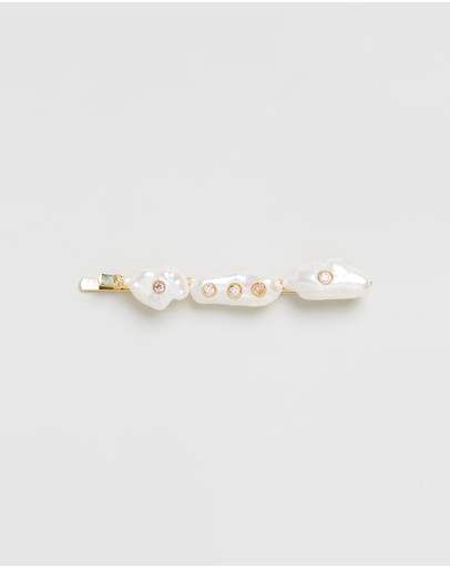 Amber Sceats Nicolette Hair Clip Pearl