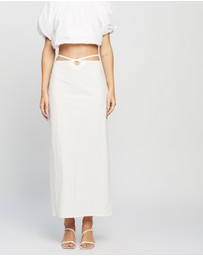 Christopher Esber - Loop Hole Tie Skirt