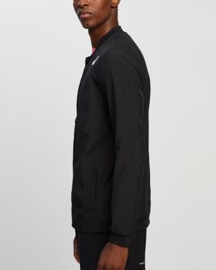 ASICS Club Woven Jacket   Men's - Coats & Jackets (Performance Black)