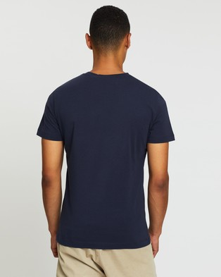 Calvin Klein Jeans Core Monogram Box Logo Tee - T-Shirts & Singlets (Night Sky)