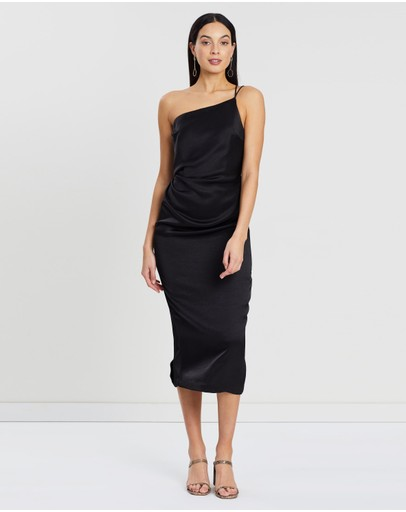 Bec + Bridge - Mila Asymmetric Midi Dress