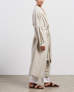 Des Sen Sabi Robe - Sleepwear (Stone)