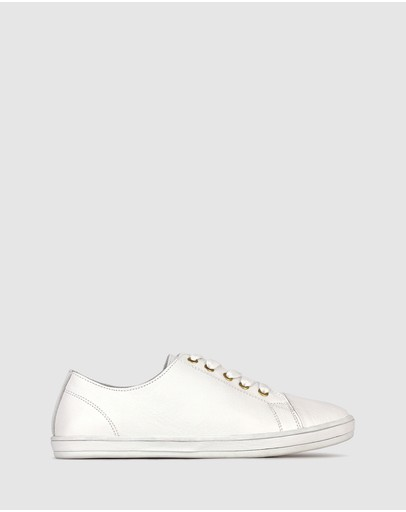 Airflex Georgie Leather Lifestyle Sneakers White