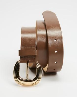 M.N.G Leather Belts