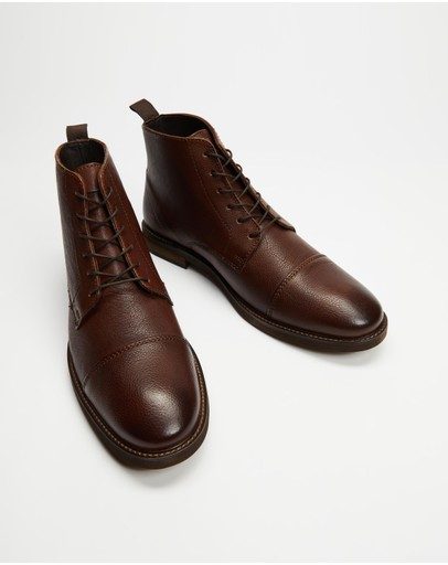 Double Oak Mills - Hoy Leather Boots