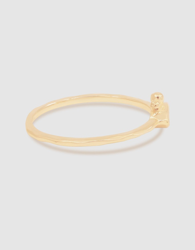 Women Gold Trust Your Intuition Ring