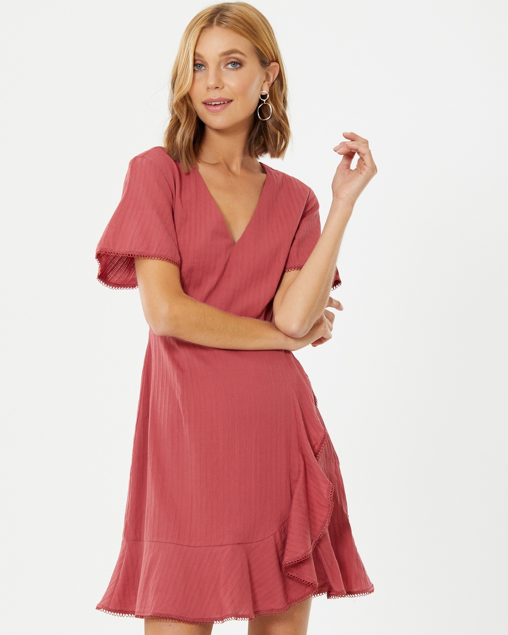 Calli Britta Dress Dresses Berry Red Britta Dress