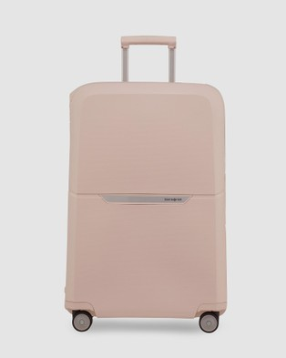 Samsonite Magnum Spinner 75 - Travel and Luggage (Soft Rose )