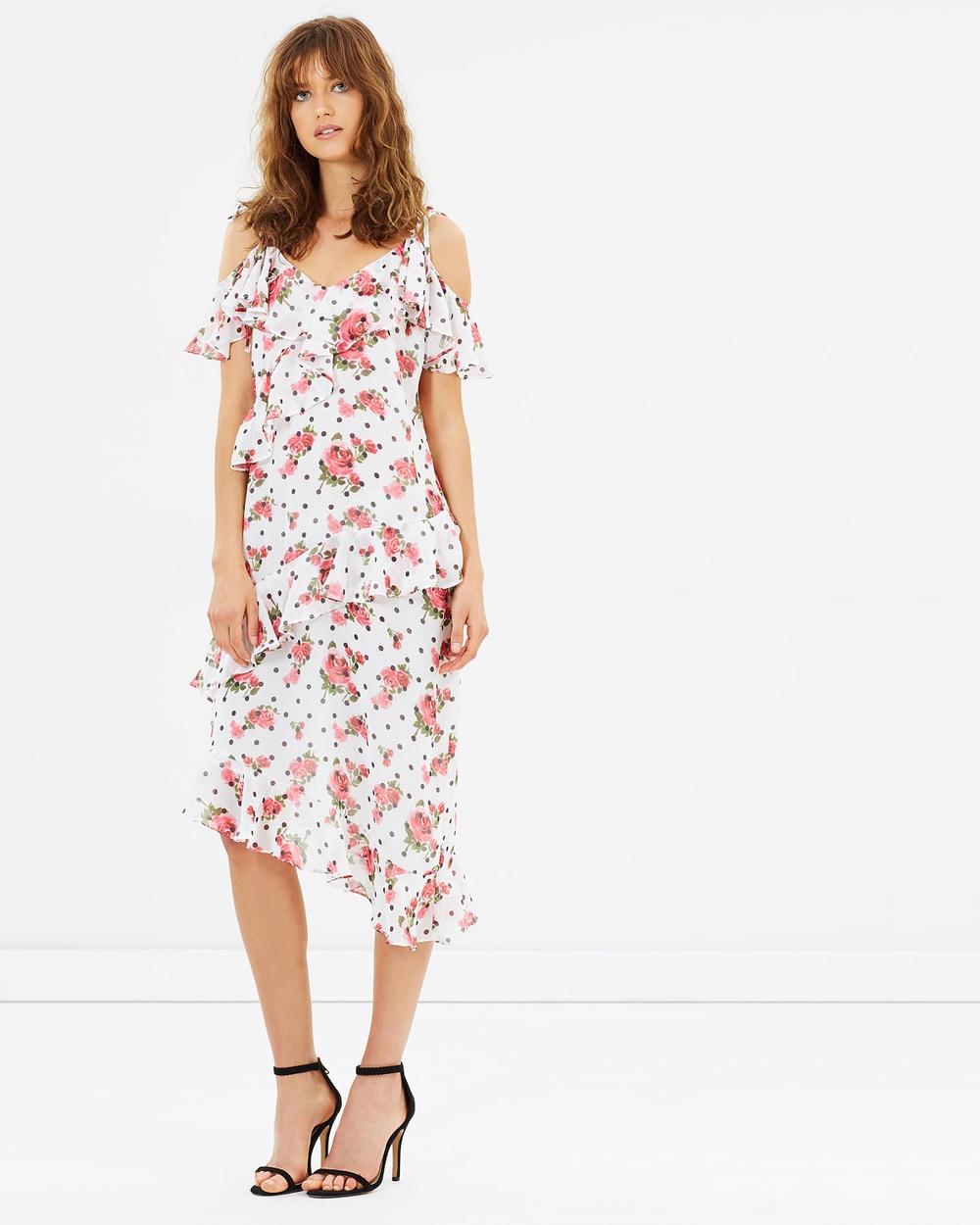 Living Doll Garden Party Ruffle Dress Dresses White Garden Party Ruffle Dress