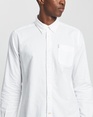 Barbour Barbour Oxford 8 Tailored Shirt - Casual shirts (White)