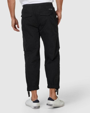 Superdry Parachute Grip Pants - Pants (Black)