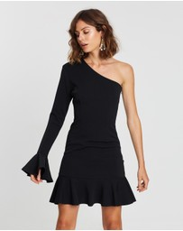 Atmos&Here - ICONIC EXCLUSIVE - One-Shoulder Ruffle Dress