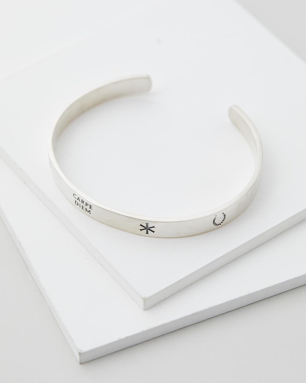 Serge DeNimes Patriot Bangle Jewellery Silver