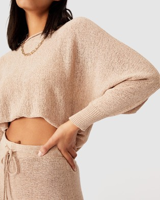 Cotton On Match Me Pullover - Jumpers & Cardigans (Latte)