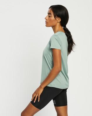 ASICS - Sakura SS Top Short Sleeve T-Shirts (Slate Grey)