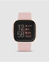 Fitbit - Fitbit Versa 2 Watch Petal Copper Rose