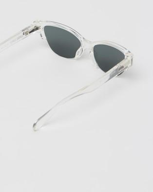 Local Supply Skyline - Sunglasses (Polished Clear & Dark Green)