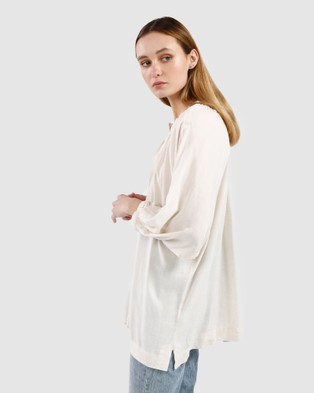 Kinney Alice Blouse - Tops (Natural )