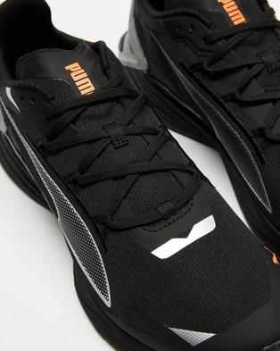 Puma UltraRide Runner ID   Men's - Performance Shoes (Puma Black & Metallic Silver)