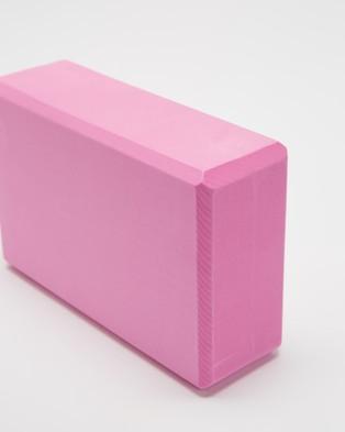 Chuchka Yoga Block - Yoga Accessories (Pink)