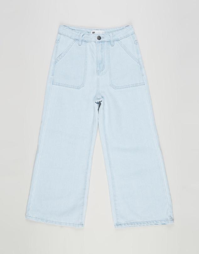 Kids Elka Wide Leg Jeans - Teens