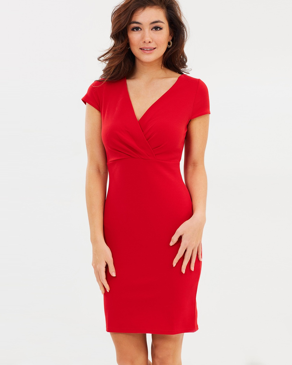 Dorothy Perkins Lace Back Bodycon Dress Bodycon Dresses Red Lace Back Bodycon Dress